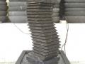 Air Mancur Cagak (Tiang) Motif Huruf S