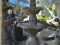 Air Mancur Teratai  3 Tingkat Atas Tengah Bawah