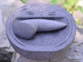 Cobek Doraemon dari Batu Gunung Merapi