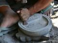 Proses Pembuatan Cobek Doraemon dari Batu Gunung Merapi