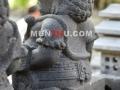Arca Dwarapala / Patung Gupolog tampak belakang