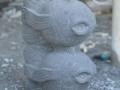 Patung Ikan Batu