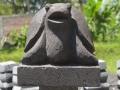 Patung Kura-kura Batu Alam Candi Merapi