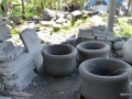 Pot Bunga Ukuran Jumbo Batu Alam Merapi