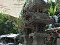 Gapura Pagoda Tingkat 3 Batu Alam Merapi