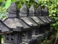 Beberapa Unit Lampion Pagar Batu Alam Merapi