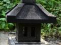 Lampion Pagar Batu Alam Merapi T50 A30 Tampak Sisi