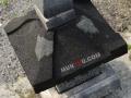Lampion Pagar Batu Alam Merapi T50 A30 Tampak Atap