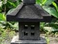 Lampion Pagar Batu Alam Merapi T50 A30 Tampak Sisi Jendela