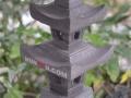 Lampion Pagoda Tingkat 2 Batu Alam Merapi