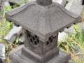 Lampion Pilar Pager Cagak Batu Alam Gunung Merapi