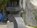 Lampion Rangkai Batu Alam Merapi Dasar Dudukan Kaki dan Kelopak