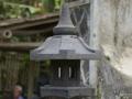 Lampion Rangkai Batu Alam Merapi Dasar Dudukan Semprong, Atap, Puncak