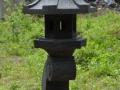 Lampion Rangkai Batu Alam Merapi Tampak Depan