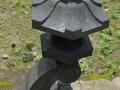 Lampion Rangkai Batu Alam Merapi Tampak Atas Samping
