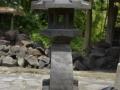 Lampion Rangkai Batu Alam Merapi Tampak Belakang
