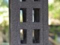 Lampion / Lampu Hias Taman Batu Alam Merapi Tampak Tengah (Jendela-jendela Kecil)