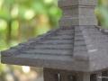 Lampion / Lampu Hias Taman Batu Alam Merapi Tampak Atas