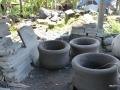 Hasil Proses Pembubutan Batu Alam