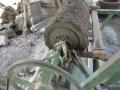 Mesin Bubut Batu Alam Merapi Tampak Samping