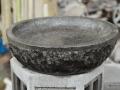 Cobek dengan Ornamen Natural (Tatahan)