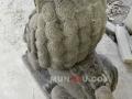 Patung Samsi (Singa) Batu Alam / Candi Tampak Belakang