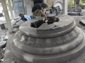 Pembuatan Stupa Candi Borobudur Batu Andesit Merapi