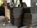 Beberapa Hasil Potong Batu Alam (Kondisi Setengah Jadi)