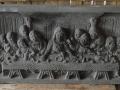 Relief Perjamuan Terakhir Batu Candi