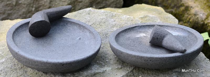 Contoh Cobek Super dari Batu Gunung Merapi: Kualitas Bagus dan Istimewa