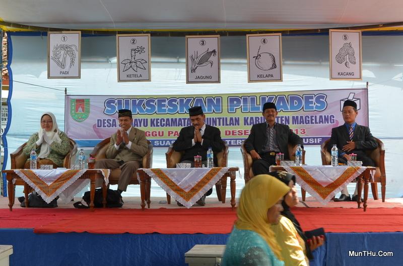 Pemilihan Kepala Desa Sedayu 2013 Dengan 5 Pasangan Calon