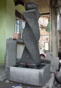 Air Mancur Cagak / Tiang #5: Motif Ulir 2