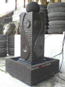 Air Mancur Cagak / Tiang #7: Motif Yin Yang