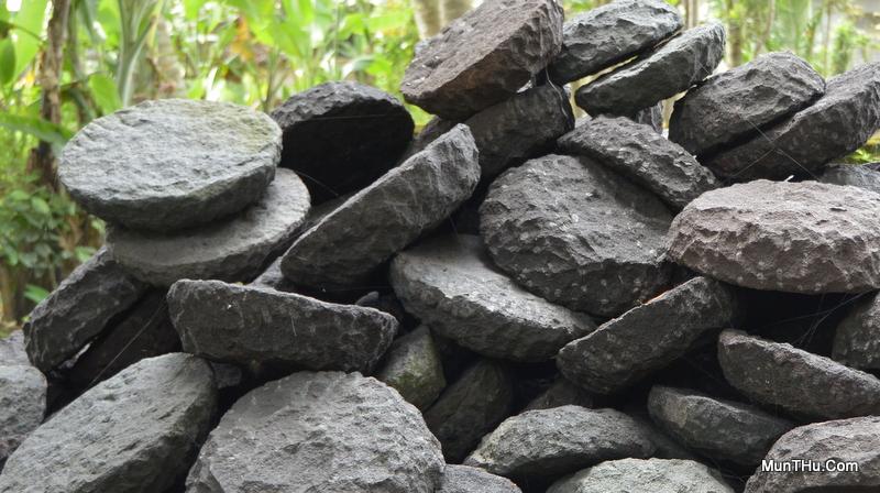 Proses Pembuatan Cobek Batu Alam Merapi Bagian Kedua (Modernisasi)