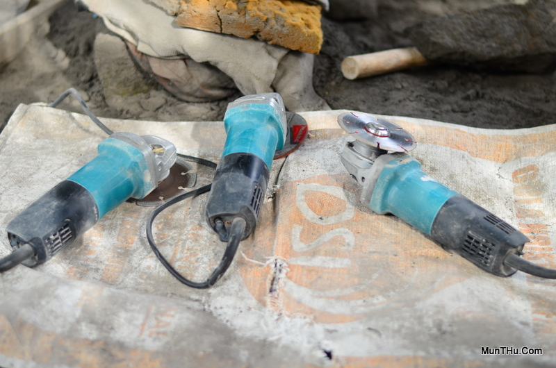 Alat Pahat Batu: Cutter / Pemotong Listrik