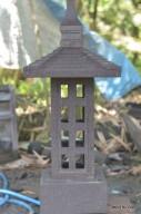 Lampu Hias Taman / Lampion Batu Alam Merapi