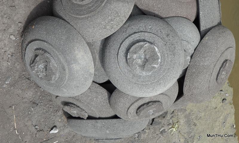 Proses Pembuatan Cobek Batu Alam Merapi: Hasil Pembubutan
