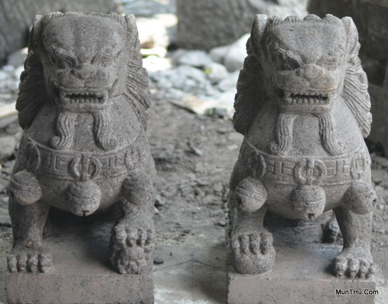 Patung Samsi Batu Candi Versi 1
