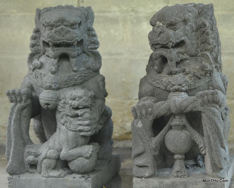 Patung Samsi Batu Candi Versi 3