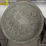 Cobek Batu Keras: Dibuat Ulir-ulir biar tidak licin