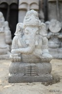 Arca Patung Ganesha (Gajah) Batu Alam Merapi