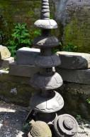 Lampion Bulat Tingkat 5 Batu Alam Merapi T120cm