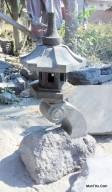 Lampion Rankai Lampu Taman Batu Alam Merapi Alas Alami