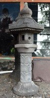 Lampion Tegak Cagak Motif Batu Alam Merapi