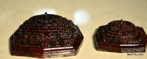 Miniatur Candi Borobudur Cetakan Fiber MN13