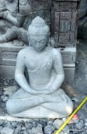 Patung Budha Dhyana Mudra Borobudur