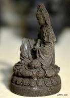 Miniatur Patung Dewi Kwan Im Cetakan Batu MN5