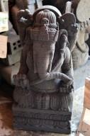 Patung Ganesha Batu Candi Merapi