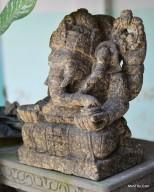 Patung Ganesha Batu Candi Merapi Proses Kuno